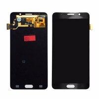 ЖК дисплей сенсорный экран дигитайзер для samsung для Galaxy Note 5 прочная Замена Сенсорный экран Аксессуары для мобильных телефонов