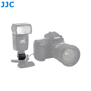 Image 4 - JJC Flash adaptateur de chaussure chaude avec prise femelle PC 3.5mm prise 1/4 20 trépied chaussette chaussures froides monter pour Portable Speedlight