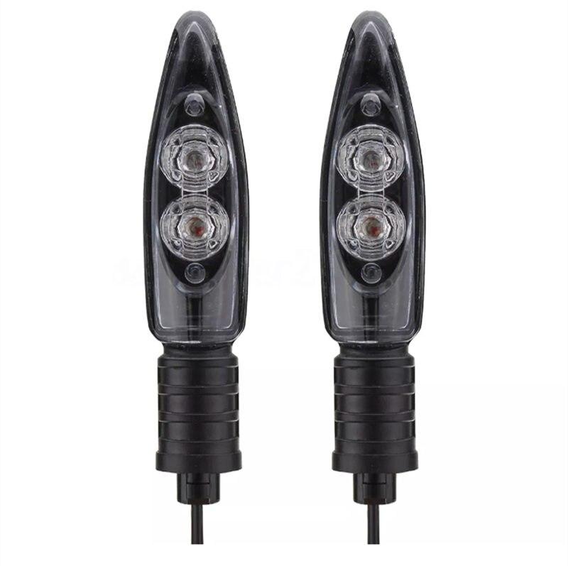 For BMW Motor HP4 S1000R S1000RR S1000XR R1200GS R1200R R1200RS Motorcycle Front Rear LED Turn Signal Indicator Light Blinker s1000rr turn led lights