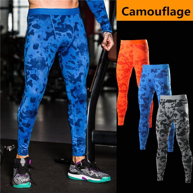 Camuflagem pantalon homme sweatpants corredores calças de compressão para os homens de secagem rápida calças dos homens calças de roupas corpo de engenheiros