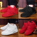 Tamanho 39-46 2016 Homens Da Moda Esporte Sapatos Casuais Masculinos Botas Sapatos Chaussure Homme Zapatillas Formadores Respiração Alta Topo Hombre Bota
