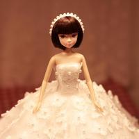 D0370 0183 Best girl gift 50cm Kurhn Princess Doll with large wedding dress Gift Luxury Dress set handemade Romantic Bride