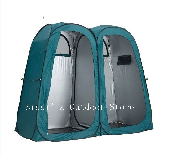 Double room Pop Up Shower Tent Ensuite Change Room Toilet/3function pop up portable tent  sc 1 st  AliExpress.com & Double room Pop Up Shower Tent Ensuite Change Room Toilet ...