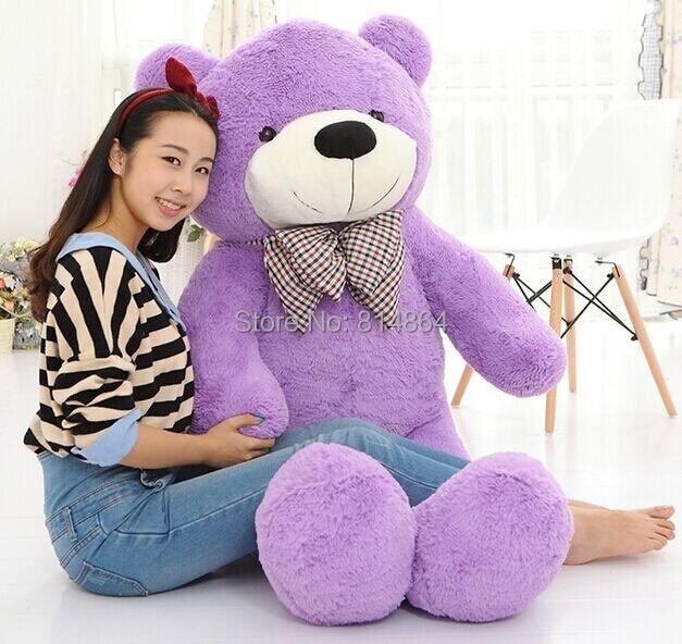 Plush Toys 160cm Teddy Bear Empty Shell Coat Bear Skins