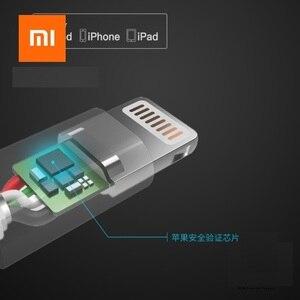 Image 2 - Xiaomi המקורי 3 ב 1 נתונים כבל 100 cm MFI עבור ברקים מיקרו USB סוג C הסמכה רשמית עבור אנדרואיד ו iphone