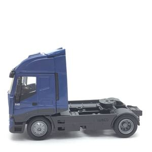 Image 2 - 1:43 sacle alloy iveco Transport vehicles,high simulation iveco Heavy Duty Trailer,Collecting alloy car models,free shipping
