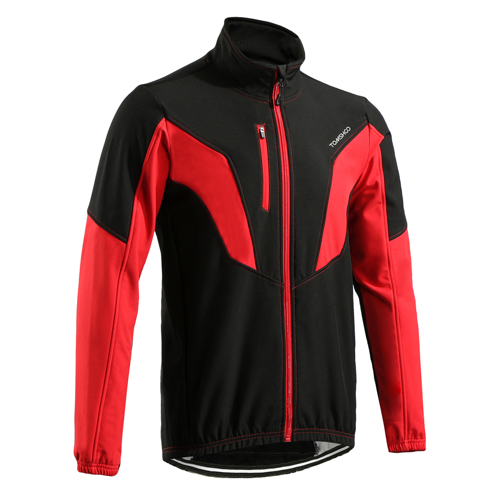 0ef696e27 2019 TOMSHOO Men S Winter Warm Thermal Bicycle Jackets Outdoor Sport ...