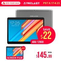 10,1 дюймов 2560*1600 Tablet PC Teclast M20 MT6797 X23 Дека Core Android 8,0 4G B Оперативная память 6 4G B Встроенная память двойной 4G телефон Планшеты Двойной Wi Fi