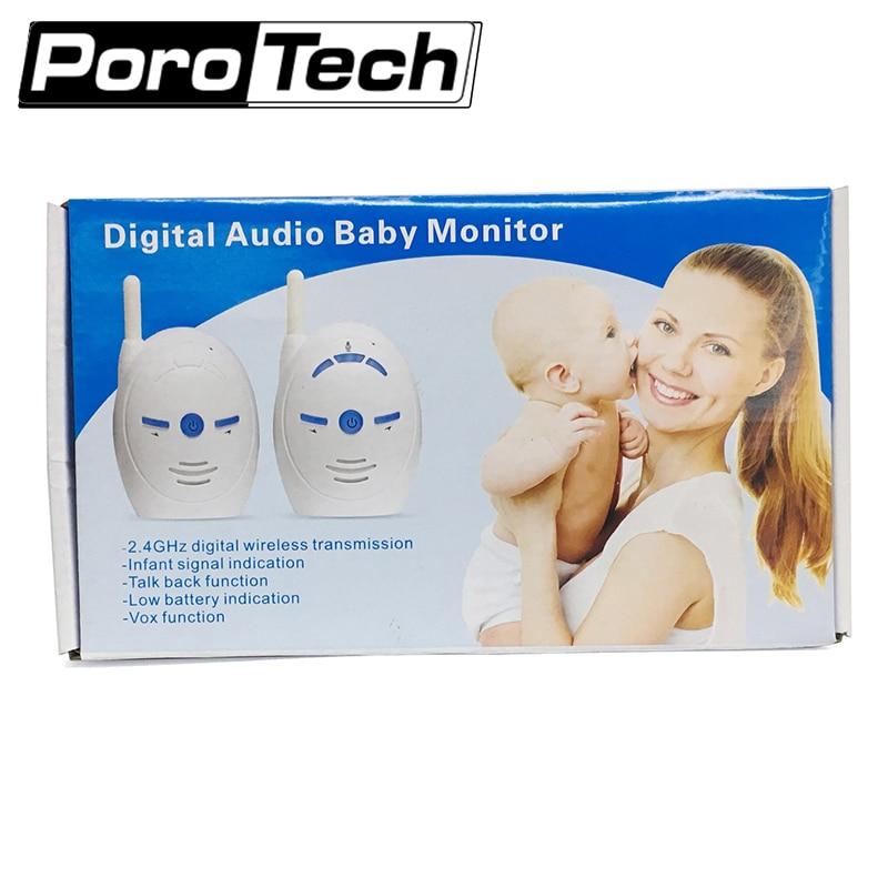 V20 inalámbrico Monitor del bebé Audio Kits Walkie Talkie teléfono bebé alarma niños intercomunicadores Radio niñera alerta de sonido