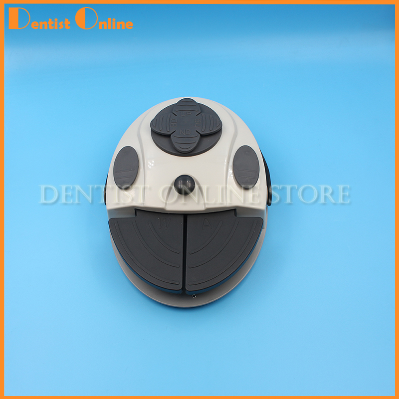 1pc dental chair unit foot controller Foot switch comprehensive luxury multifunctional pedal switch foot pedal switch недорго, оригинальная цена