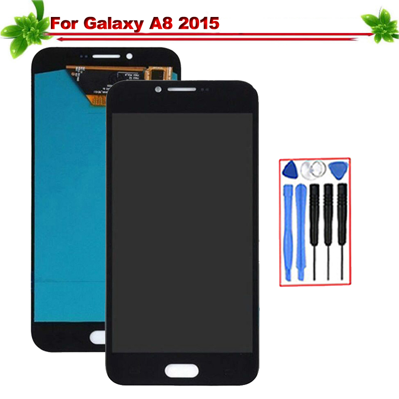 Oled 5.7 for Samsung Galaxy A8 2015 A800 A8000 A800F LCD Display Touch Screen Digitizer Assembly Replacement for Galaxy A8 lcdOled 5.7 for Samsung Galaxy A8 2015 A800 A8000 A800F LCD Display Touch Screen Digitizer Assembly Replacement for Galaxy A8 lcd