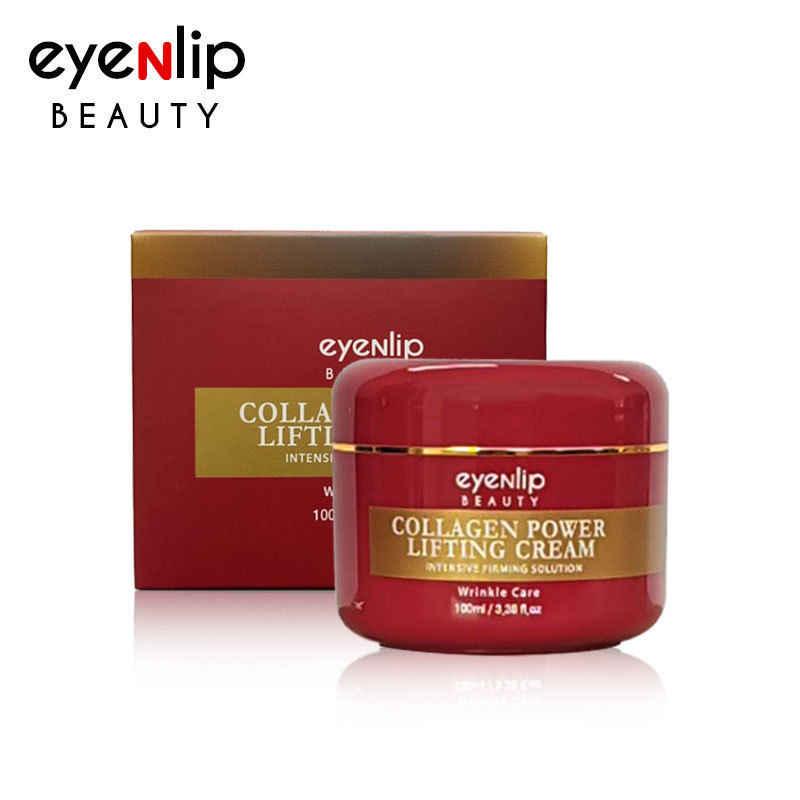 Eyenlip colágeno levantamento de energia creme 100ml creme para o rosto cuidados com a pele levantamento endurecimento clareamento creme hidratante cosméticos coreanos