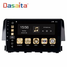 Dasaita 9″ Android 8.0 Car GPS Radio Player for Honda Civic 2015-2016 with Octa Core 4GB+32GB Auto Multimedia Stereo video 4G