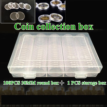 SHRXY Metal Detector Transparent Coin Collector protection Box Kit Treasure Hunt Storage Set