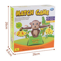 Monkey Early education Balance Addition and Subtraction Mathematical scale game toy Monkey Enlightenment digital