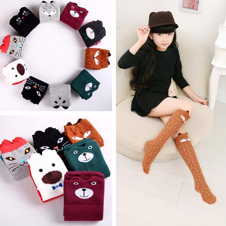 Girls Animal Pattern Socks