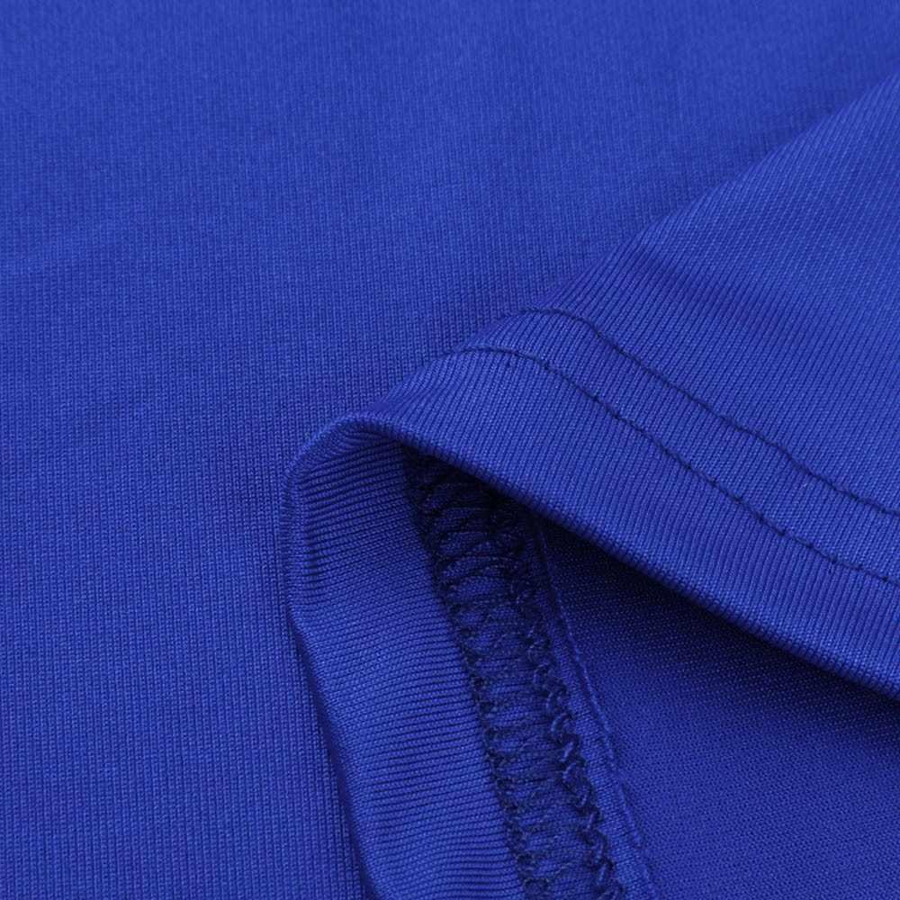 Wanita Bahu Dingin Blus Musim Panas Lengan Pendek Bertali Leher Bulat Kemeja Atasan Warna Solid Blus Блузка Женская @ 20
