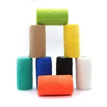 Купить с кэшбэком Medical bandage sports elastic bandage 10 * 450cm selfadhesive elastic bandage