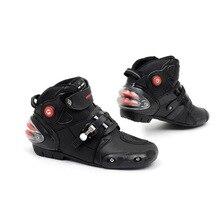 Best Pro Biker Motorcycle Boots Men Shoes Bota Motocross Boots Sport Motorcycle Shoes 2015 Motorboats Racing Shoes Botas de Moto