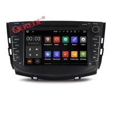 4 ядра android 7.1 dvd-плеер автомобиля для LIFAN X60 2011-2012, lifan SUV X60 2011-2012 с GPS автомобиля видео Радио собран в 4 г