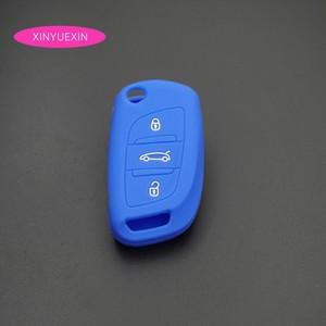 Image 5 - Xinyuexin غطاء مفتاح سيارة سيليكون فوب الحال بالنسبة لسيتروين C2 C3 C4 كوبيه VTR بيرلينجو C6 C8 الوجه البعيد مفتاح السيارة سيارة التصميم