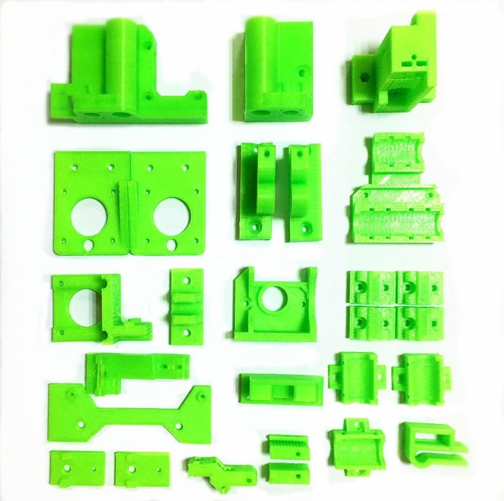 I3 3D printer full set of PLA plastic print parts