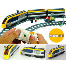 New Motor Power Up function RC Train Station fit technic train track city figures Building Blocks Bricks Toy Gift kid birthday цена