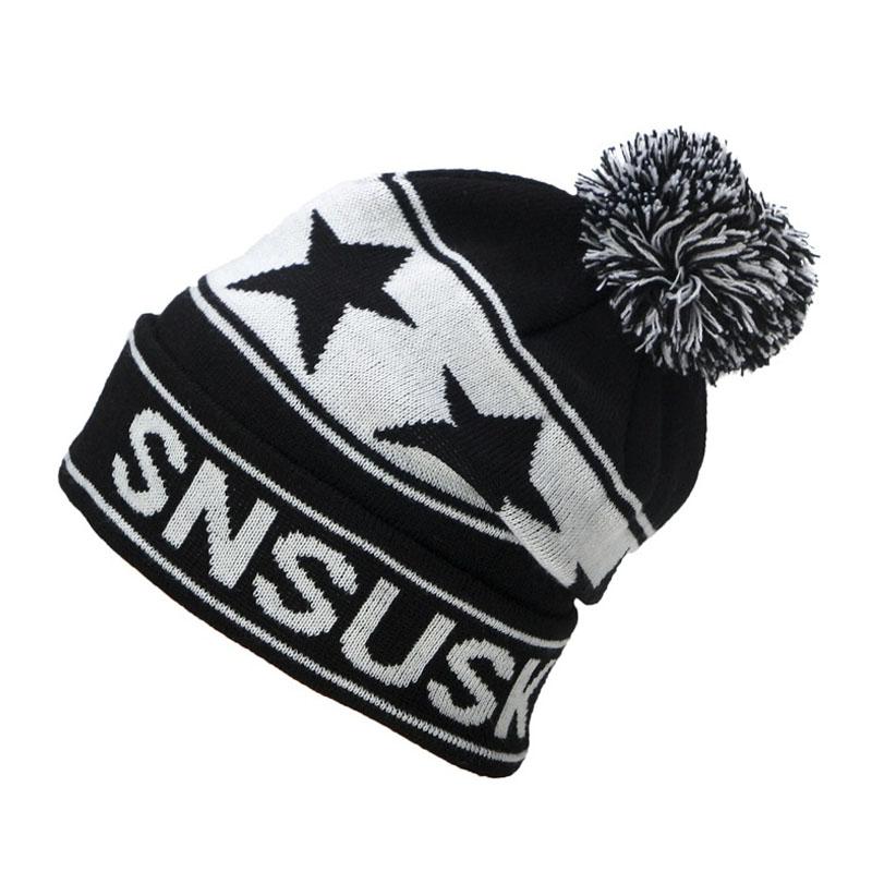 2019 de esquí de invierno sombrero de lana gorras para Hombre sombreros  mujer Gorros de punto de calidad gorros Hombre Snowboard de Gorros de lana  en Gorros ... 76bf18001ad