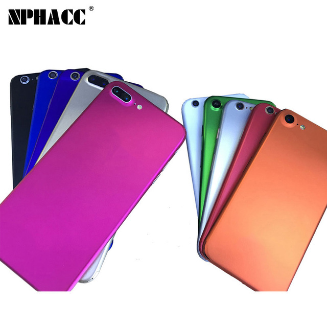 new products 61707 c4090 US $3.56 |2017 New Ice film Full body protector sticker cover for iphone 7  7plus foil matte colorful sticker for apple iphone 5 se 6 6s-in Fitted ...
