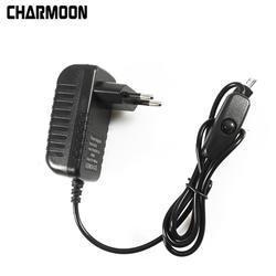 5 в 3A Питание Зарядное устройство адаптер переменного тока Micro USB кабель с Мощность включения/выключения для Raspberry Pi 3 банан pi pro Модель B + плюс