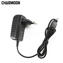 5V 3A Power Supply Charger AC Adapter Micro USB Cable with Power On/Off Switch For Raspberry Pi 3 banana  pi pro Model B B+ Plus