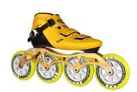 Высокое качество! xw роликовые коньки обувь профессиональные взрослый ребенок Встроенные роликовые коньки 4 скорости колеса конька мужчин/ж