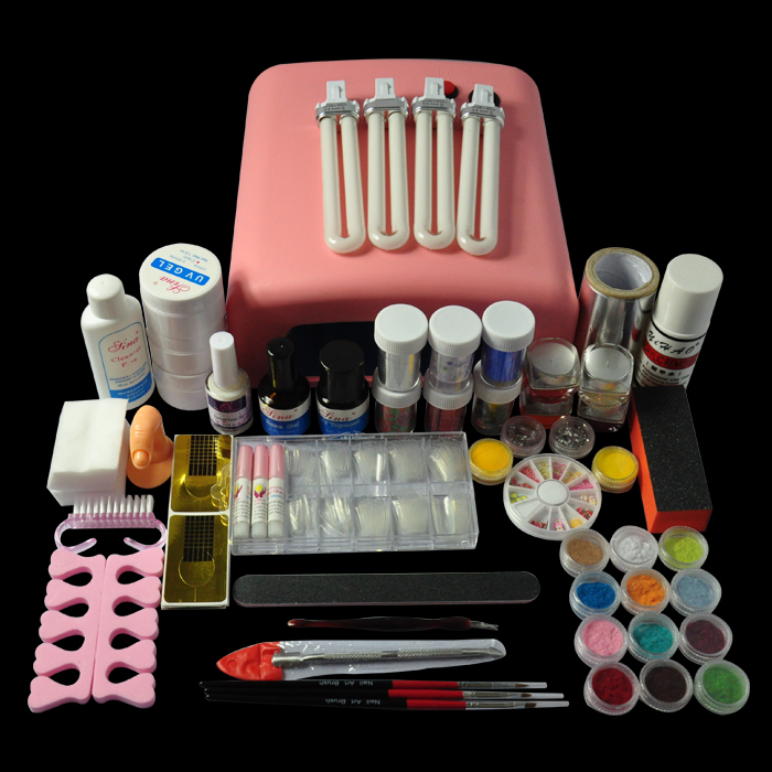 36W Nail Star Silk Velvet UV Lamp Salon Phototherapy Tools Set In Art Equipment From Beauty Health On Aliexpress