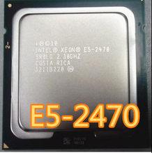 Процессор Intel Xeon E5 2470, процессор SR0LG 2,3 ГГц, 8 ядер, 20 м, LGA1356