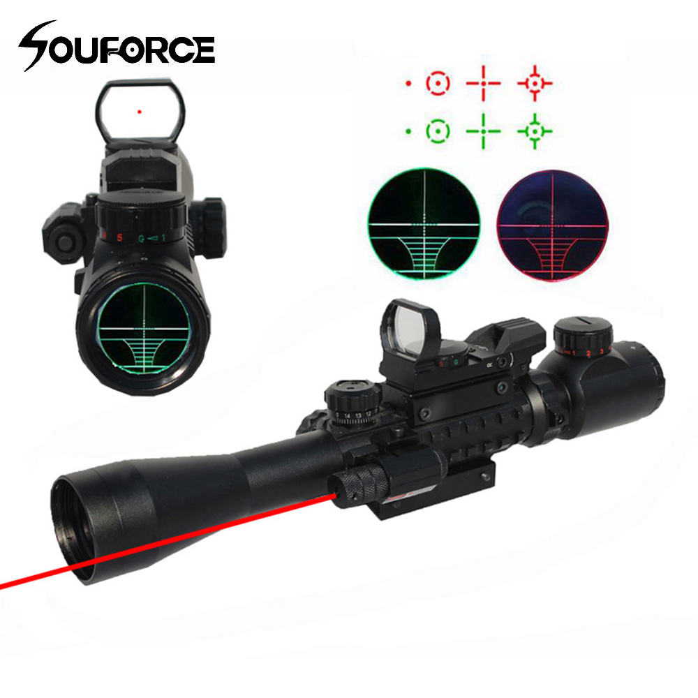 3-9x40 Hunting Riflescope Red/Green Illumination Rangerfinder Reticle with Red Laser Sight and Holographic Sight 3 in 1 Cambo living room rug carpet for kids baby play mat 180 200 2cm children developing rug puzzle thickend foam coral velvet