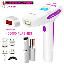 Personal Care Depiladora Laser IPL Permanent Hair Removal Face Body Beauty Machine Epilator with LCD Display 400000 Pulses