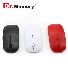 2,4 Ghz Портативная беспроводная мышь, ультра тонкая компьютерная оптическая usb игровая мышь, 7 цветов,, беспроводная мышь
