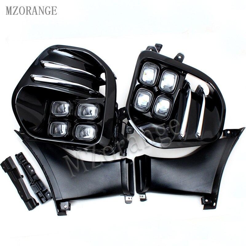 MZORANGE 2PSC DRL Fog Light Lamp Daytime Running Light Set For KIA Sportage QL kx5 2016