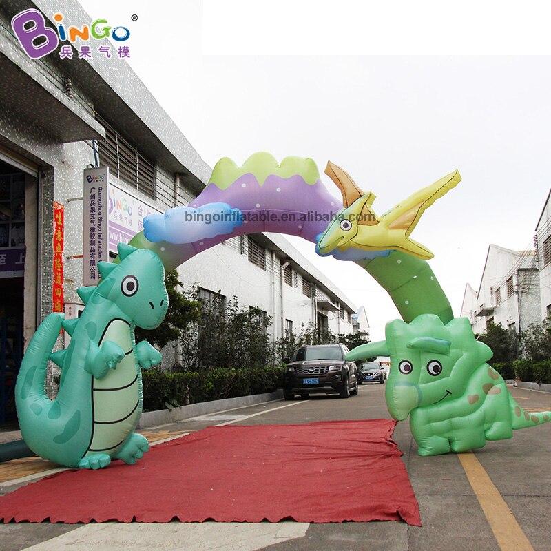 Personnalisé 5X3.4 mètres gonflable arc partie/arche gonflable prix/gonflable arche d'entrée jouets