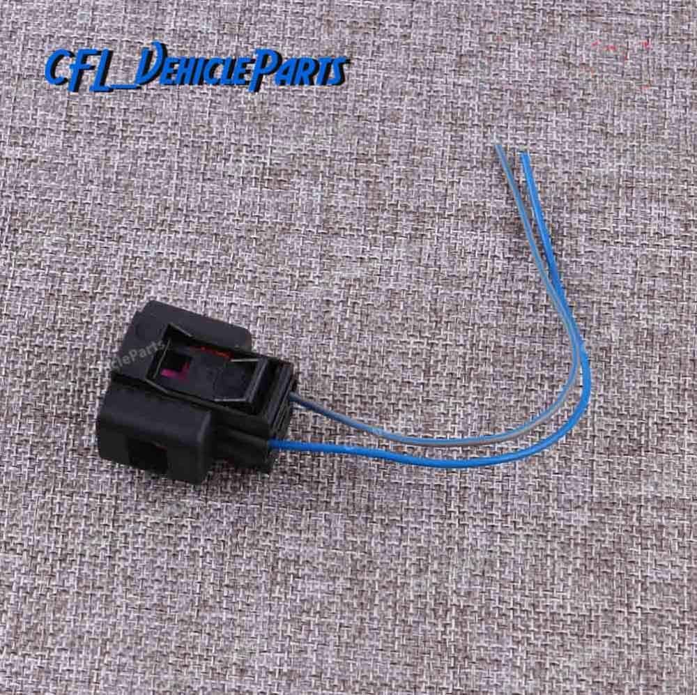 x3 2 Pin Plug Washer Fluid Sensor Pigtail 1J0973202 For VW Golf MK5 MK6 Jetta Passat Tiguan For <font><b>Audi</b></font> A4 2002-<font><b>2014</b></font> <font><b>A6</b></font> Q5 R8 TT image