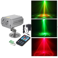 Disco Lights Mini Lazer Pointer Stage Lights DJ Disco Laser Stage Lighting for Christmas Home Party Show Club Bar Wedding
