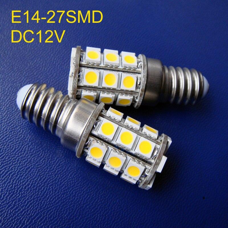5050 3 chips 12V E14 led lights,E14 led 12Vdc lamps ,E14 DC12V led bulbs (free shipping 2pcs/lot)