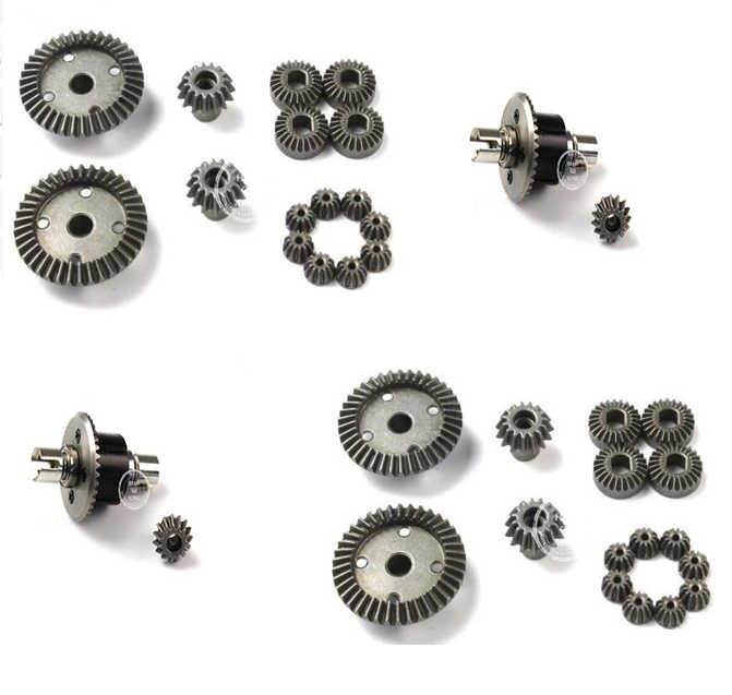 Upgrade metalen differentieel of gear voor Wltoys A949 A959 A969 A979 A959-B A969-B A979-B RC Auto onderdelen A949-23 A959-B-27