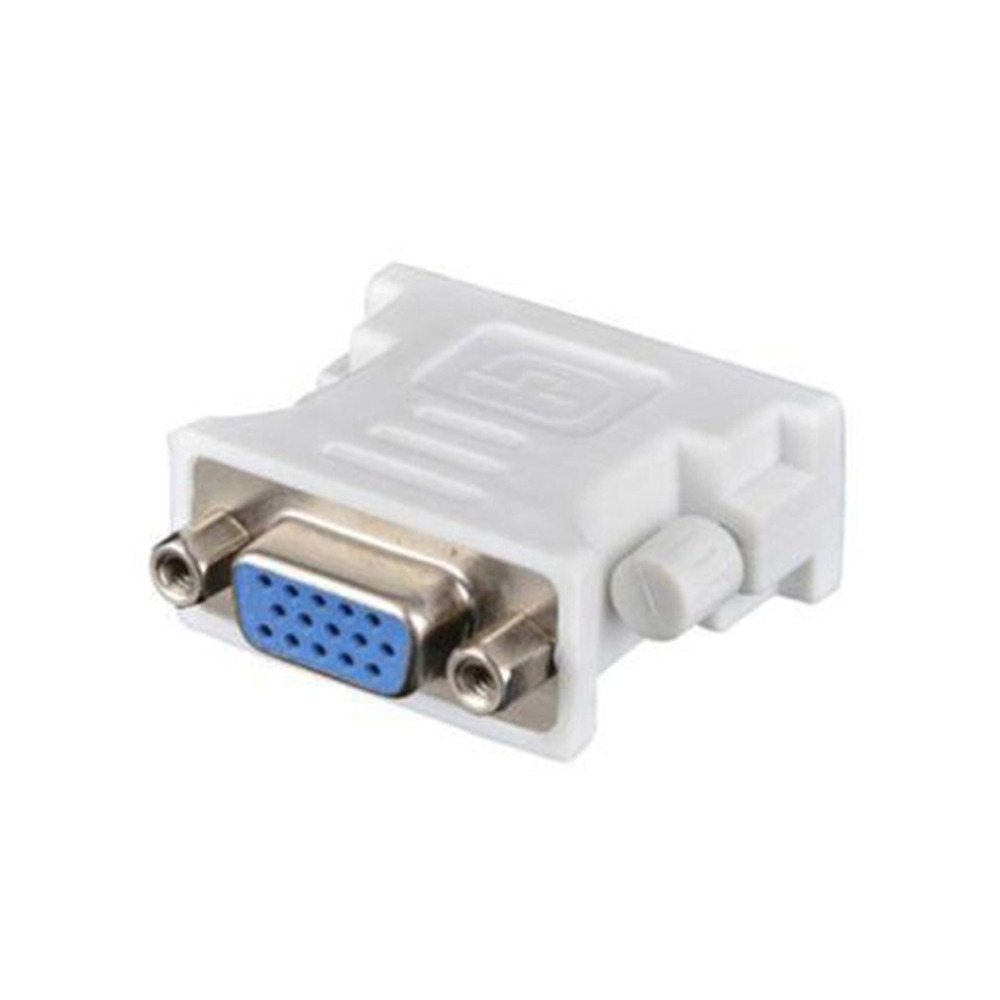 цена на DVI D Male To VGA Female Socket Adapter Converter VGA to DVI/24+1 Pin Male to VGA Female Adapter Converter