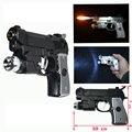 Электрическим Током Светодиодный Пистолет зажигалка Пистолет игрушка 3 в 1 функция Шутка Шутки Trick Забавные игрушки