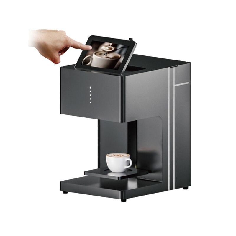 2018 портативный цифровой принтер селфи кофе 3d машина для кофе капучино конфеты, печенье шоколад чай печенье wi fi