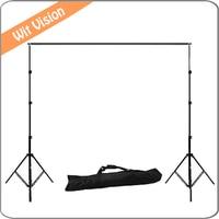 2.6 m * 3 m/8.5ft * 9.8ft Fotoğraf Arkaplan Backdrop Destek Standı Sistemi Kiti Set