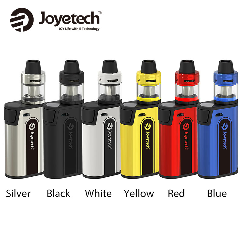 где купить  2017 New Joyetech CuBox with CUBIS 2 Tank 3.5ml Electronic Cig Starter Kit 0.6ohm ProC-BF Coil with CuBox Vape Mod Battery 510  дешево