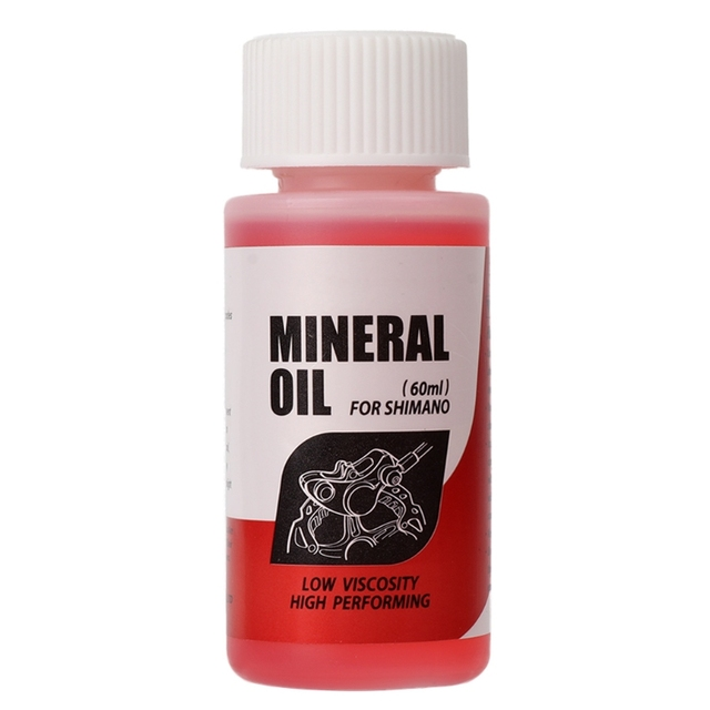 Bicycle Brake Mineral Oil System 60ml Fluid Cycling Mountain Bikes For Shimano
