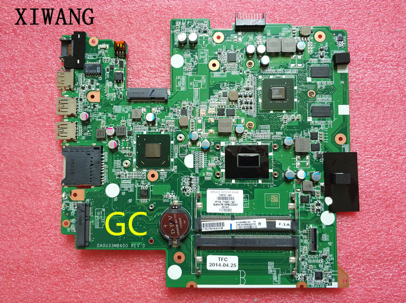698494-501 698494-001 Free Shipping for hp Seekbook 14 laptop motherboard DAOU33MB6D0 ,100% TESTED with warranty free shipping for hp 642754 001 8460p laptop motherboard 642754 001 8460p with fully tested and warranty